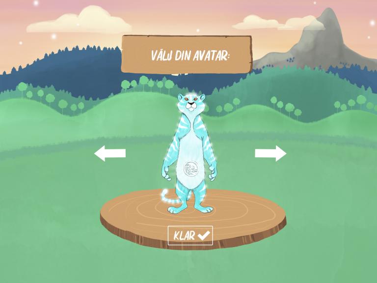 väljer barnen en avatar